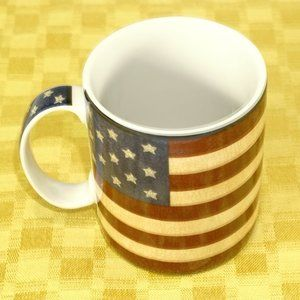 Patriotic Coventry coffee mug cup EUC